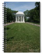 District Of Columbia War Memorial Spiral Notebook