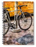 Ditchin' The Taxi To Ride Spiral Notebook