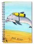 Dive Buddy Spiral Notebook