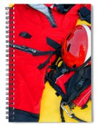 Diver Emergency Rescue Kit Spiral Notebook
