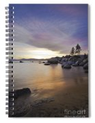 Divers Cove At Sand Harbor Spiral Notebook