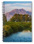 Divide Creek Morning Spiral Notebook
