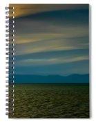 Divided Sky Spiral Notebook