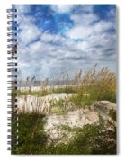Divine Beach Day  Spiral Notebook