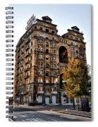 Divine Lorraine Hotel In Philadelphia Spiral Notebook