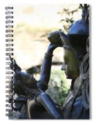 Divine Mother And Child Spiral Notebook