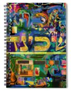 Divinely Blessed Marital Harmony 42 Spiral Notebook