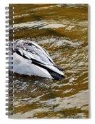 Diving Duck Spiral Notebook