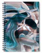 Diving Into Your Ocean 3 Spiral Notebook