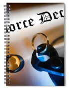 Divorce Decree Spiral Notebook