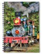 Dixiana Engine Spiral Notebook