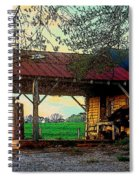 Dixie Oil And Gasoline Spiral Notebook