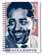 Dizzy Gillespie Portrait Spiral Notebook