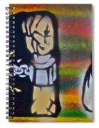 Django Gunnin' Spiral Notebook