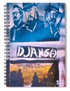 Django Once Upon A Time Spiral Notebook