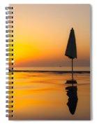 Djibouti Sunset Spiral Notebook
