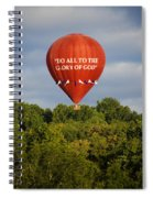 Do All To The Glory Of God Balloon Spiral Notebook