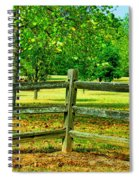Do Not Fence Me In Spiral Notebook