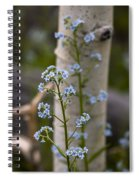 Do Not Forget Me Spiral Notebook