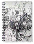 Do Not Labor In Vain And Do Not Listen To Worthless Matters 2 Spiral Notebook