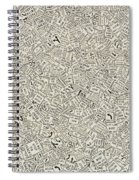 Do Not Stop On Tracks Spiral Notebook