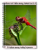 Do Not Worry Spiral Notebook