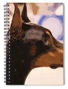 Doberman Spiral Notebook