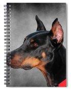 Doberman Pinscher Spiral Notebook