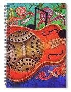 Dobro-slide Guitar-2 Spiral Notebook
