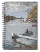 Dock At The Bay North Tonawanda Spiral Notebook