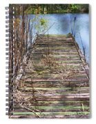 Dock In The Glades Spiral Notebook