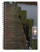 Dock Light Spiral Notebook