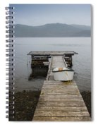 Dock Of The Bay Spiral Notebook