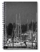 Docked Spiral Notebook