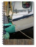 Dockside Detail Spiral Notebook