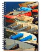 Dockside Parking Spiral Notebook