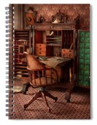 Doctor - Desk - The Physician's Office  Spiral Notebook