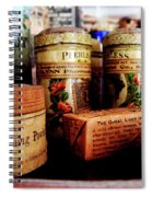 Doctor - Liver Pills In General Store Spiral Notebook