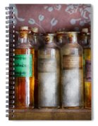 Doctor - Perfume - Soap And Cologne Spiral Notebook