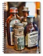 Doctor The Mercurochrome Bottle Spiral Notebook