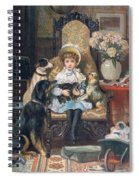 Doddy And Her Pets Spiral Notebook