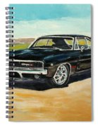 Dodge Charger Rt 1970 Spiral Notebook