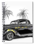 Dodge Coupe Spiral Notebook