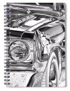 Dodge Dart Spiral Notebook