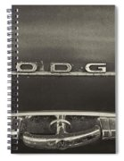 Dodge Emblem Spiral Notebook