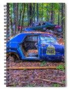 Dodge Polara Police Vehicle Spiral Notebook
