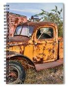 Dodge Power Wagon Wrecker Spiral Notebook