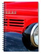 Dodge Truck Spiral Notebook