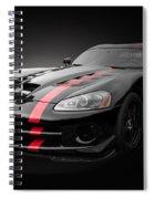 Dodge Viper Srt Spiral Notebook
