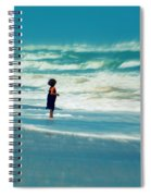 Does The Ocean Ever Stops Spiral Notebook